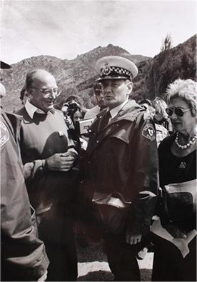Arrested Claudio