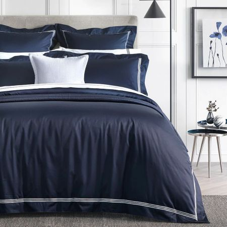 Sheridan 1200Tc Palais Lux Quilt Cover Midnight