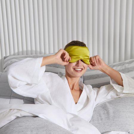Lanham Silk Eye Mask in spring