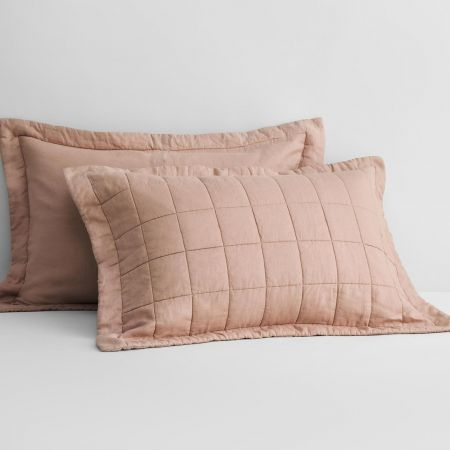 Abbotson Linen Pillow Sham in clay