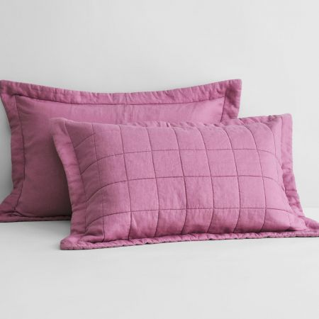 Abbotson Linen Pillow Sham in crocus