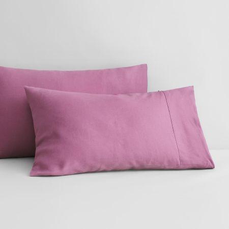 Abbotson Linen Pillowcase Pair in crocus
