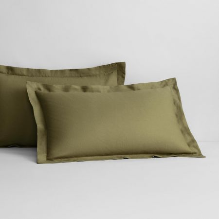 Abbotson Linen Tailored Pillowcase Pair