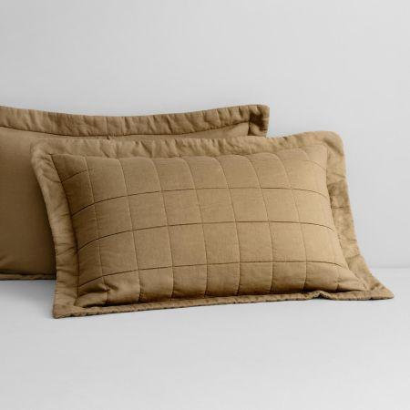 Abbotson Linen Pillow Sham in Cumin