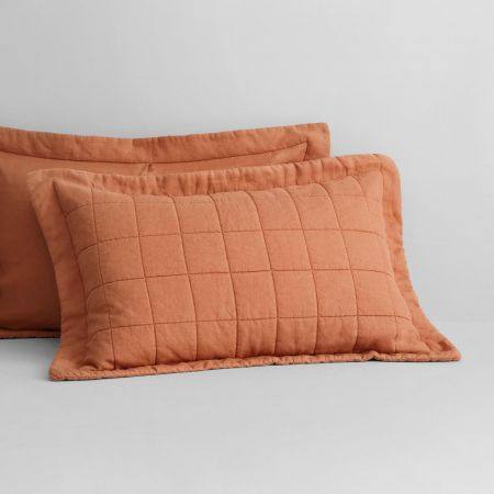 Abbotson Linen Pillow Sham in Maple