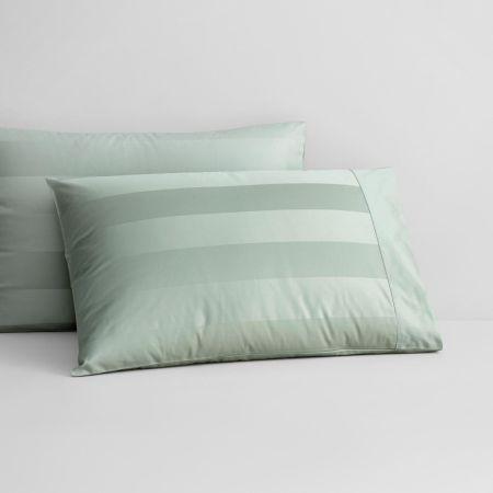 1200tc Masterson Pillowcase in Spearmint