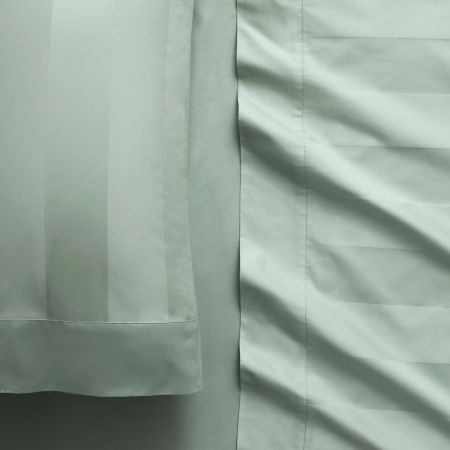 1200tc Masterson Fitted Sheet in Spearmint