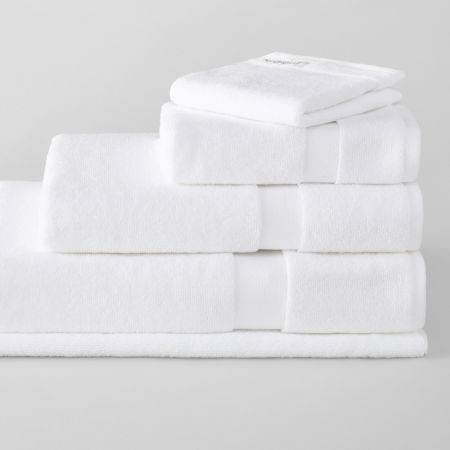 Eden Organic Cotton Towel Collection White