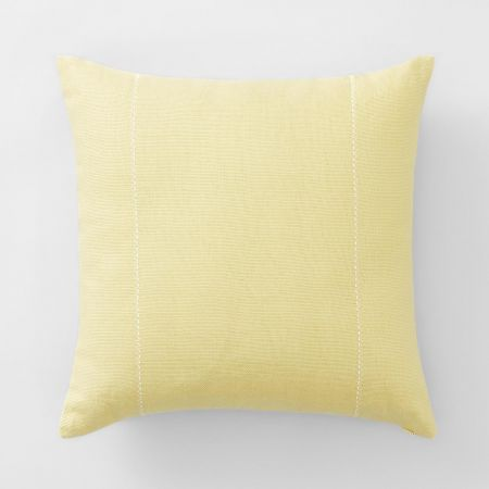 Palmers Bay Cushion in chartreuse