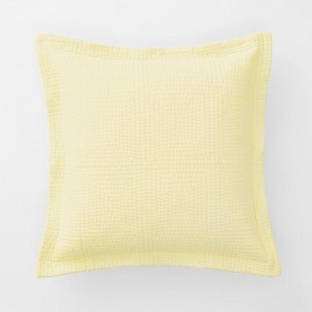Beechwood Cushion in Buttercream