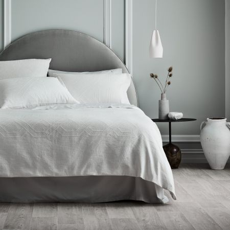 Sheridan Chabrol Quilt Cover White