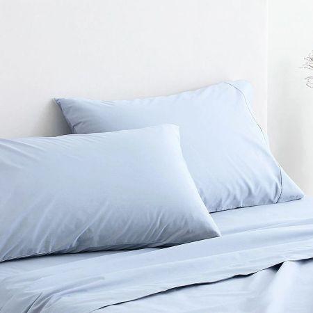 Organic Cotton 300TC Percale Pillowcase Pair