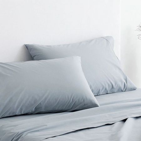 Sheridan 300Tc Classic Percale Pillowcase Pair River