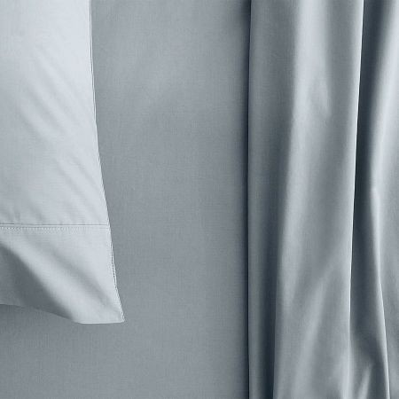 sheridan Organic Cotton 300TC Percale Sheet Set river