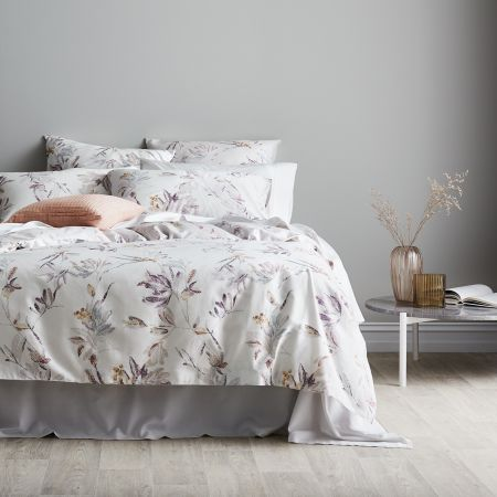 Sheridan Liora Quilt Cover Set Thistle