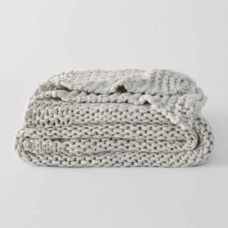 Sheridan Andree Throw Frost Grey