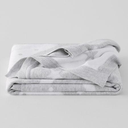 Sheridan Cosy Burrow Baby Pram Blanket Marl