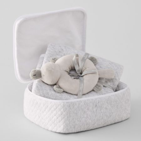 Sheridan Huntleigh Baby Gift Set Grey