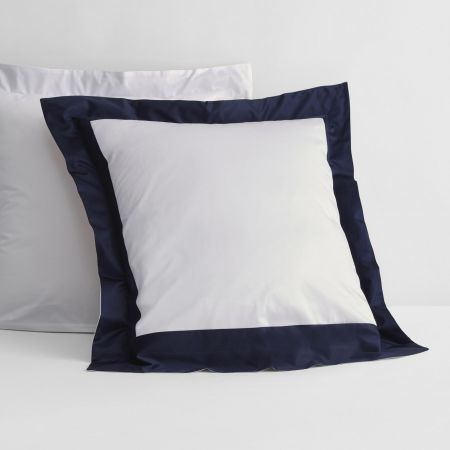 1200tc Estrel Tailored European Pillowcase in midnight