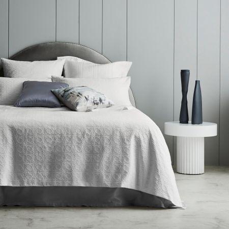 Sheridan Milkwood Quilt Cover White