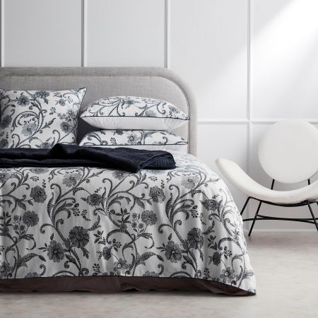 Traynor Quilt Cover in midnight