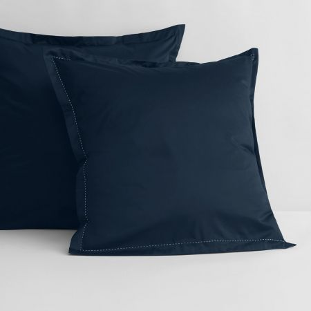 1200tc Garrow European Pillowcase in midnight