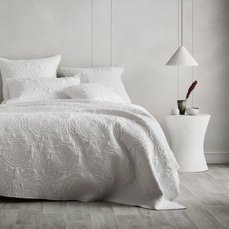 Sheridan Landor Bed Cover White