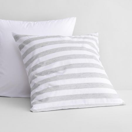 Hayle European Pillowcase in silver