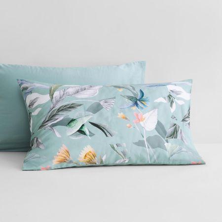 Corbetta Pillowcase Pair in mint frost