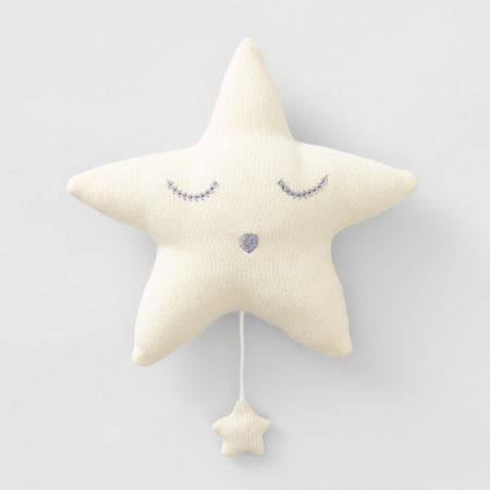 Sweet Music Baby Musical Star Toy in buttermilk