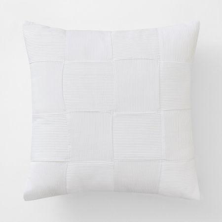 Brannen Square Cushion in white