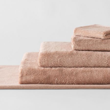 Supersoft Luxury Towel Collection in mousse
