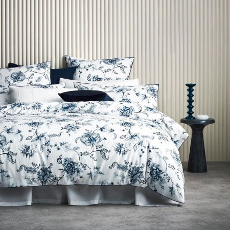 Eagan Quilt Cover in Midnight
