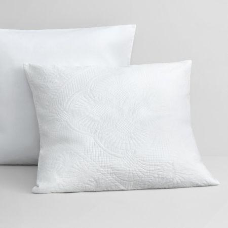 Upton European Pillowcase in White