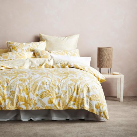 Marsella Quilt Cover Set in Dijon