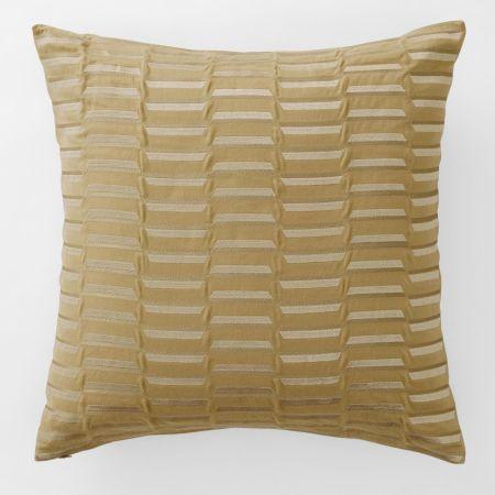 Azari European Cushion in Cumin