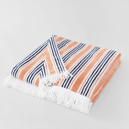 Seabay Beach Towel in Quince