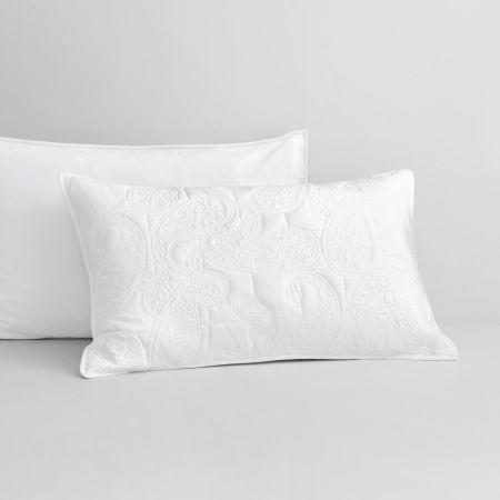 Dalbury Pillowcase Sham in White