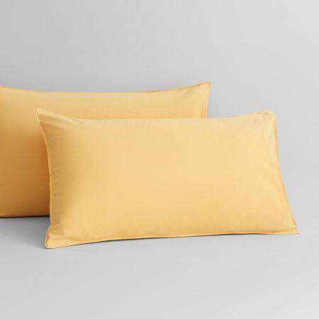 Onslo Pillowcase Pair in Amber