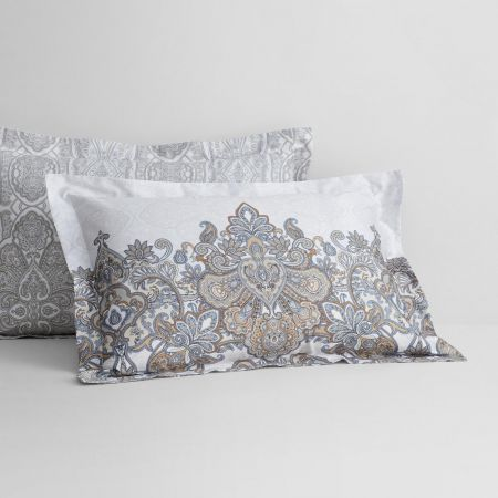 Josef Tailored Pillowcase in Bronze