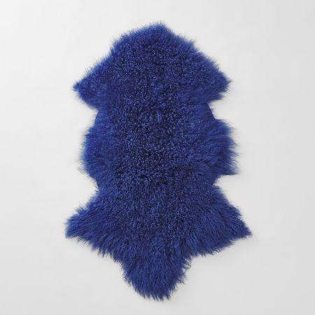 Bligh Throw in cobalt