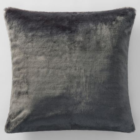 Sheridan Dalmar Faux Fur European Pillowcase Stone