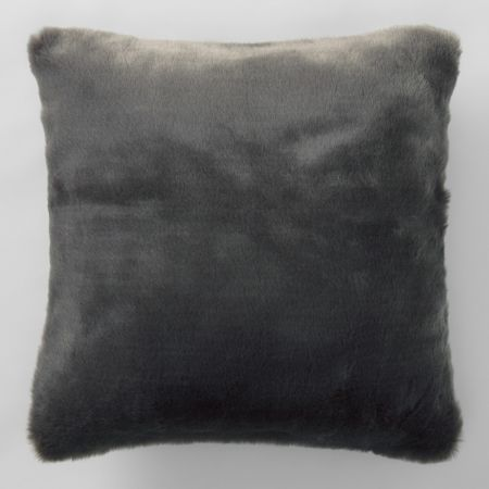 Sheridan Dalmar Faux Fur Cushion Stone