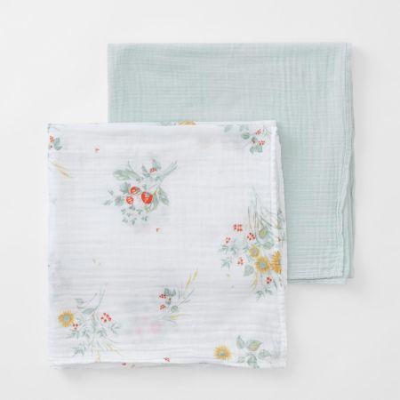 Sheridan Mysie Baby Wrap Set Celadon