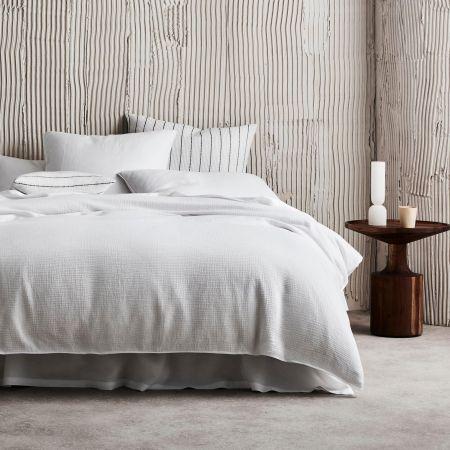 Freemont Pillowcase in White