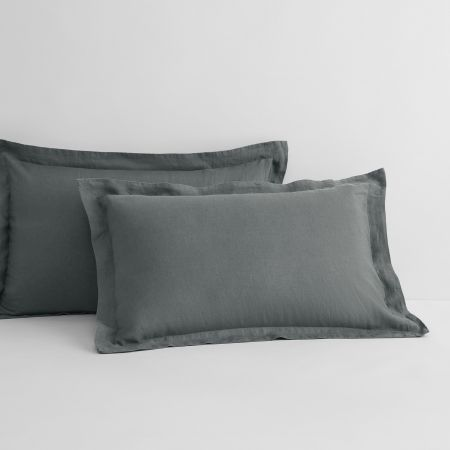 abbotson standard pillowcase pair smoke
