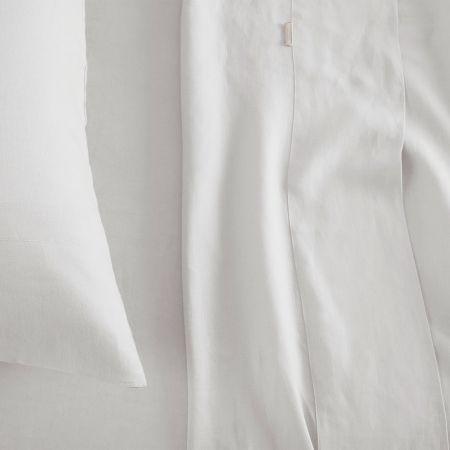 Sheridan abbotson linen flat sheet white