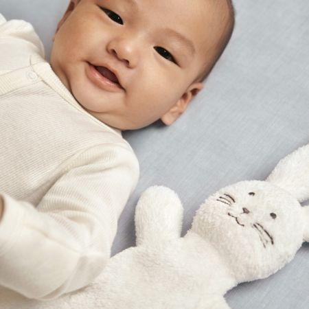 Bunnie Baby Comforter Toy