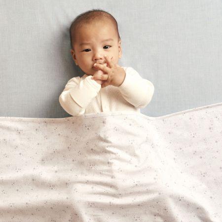 Sheridan Henlet Baby Wrap White