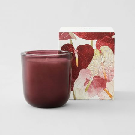 Cashmere Candle in Burgundy